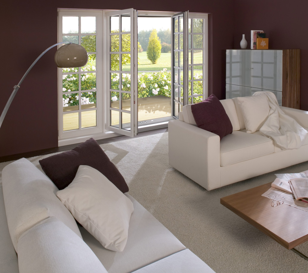 Combinând tehnologiile STV-IKD-Acrylcolor, GEALAN produce ferestre utilizabile pentru case pasive (Futura). Imaginația arhitecților poate fi transpusă în practică mult mai ușor (©GEALAN).