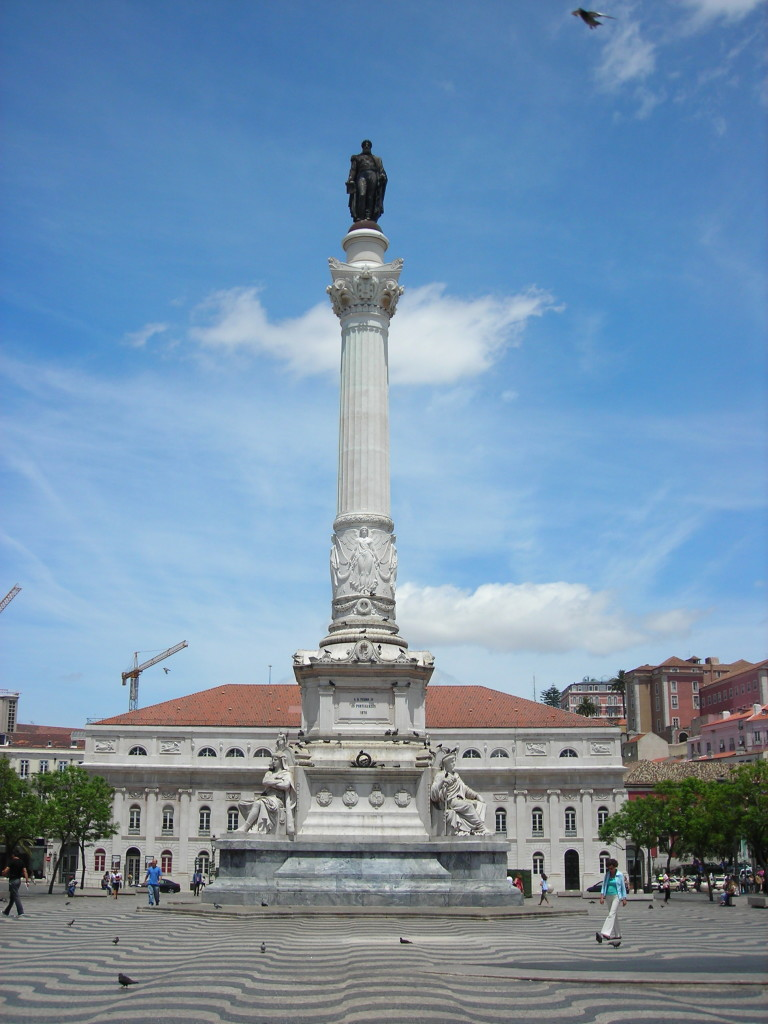 Columna regelui Pedro IV din Rossio (By Therese C)