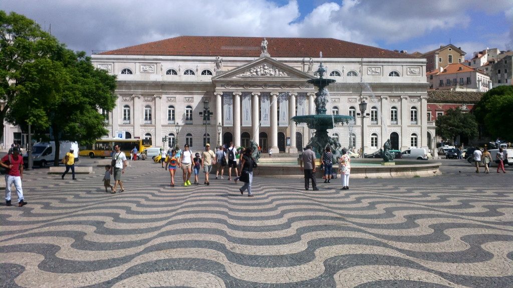 Teatrul Național Dona Maria II (Praça Rossio)