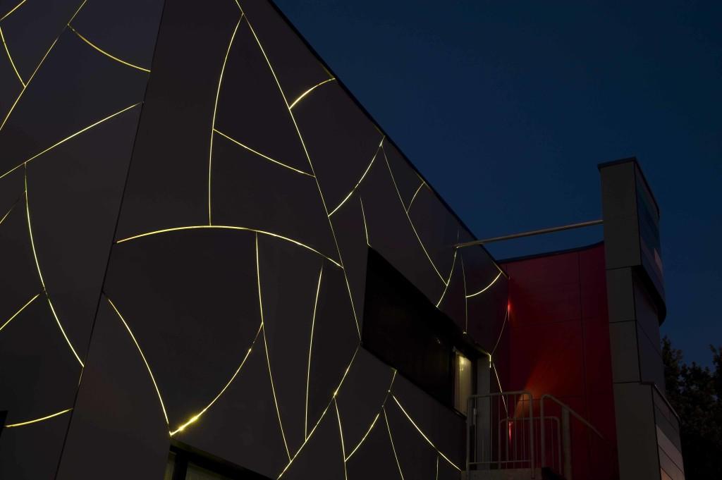 TRESPA, fatade ventilate LED